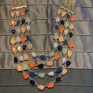 Gorgeous Multi Color Talbots Necklace